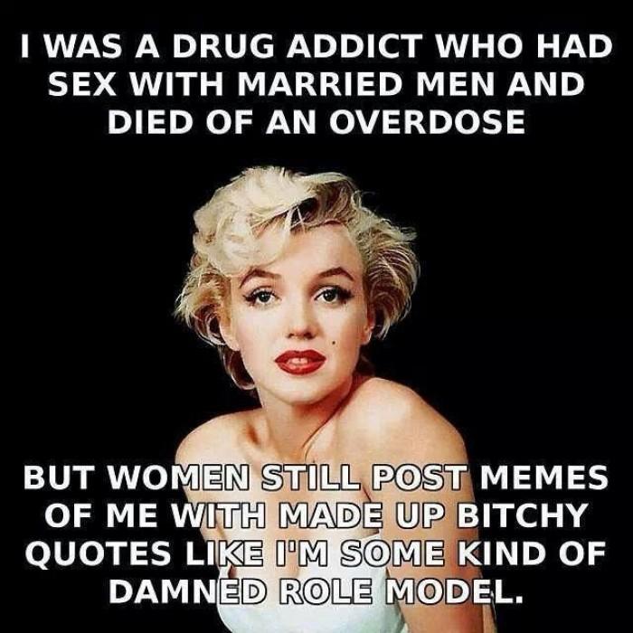 Marilyn Monroe - I Was a drug addict...