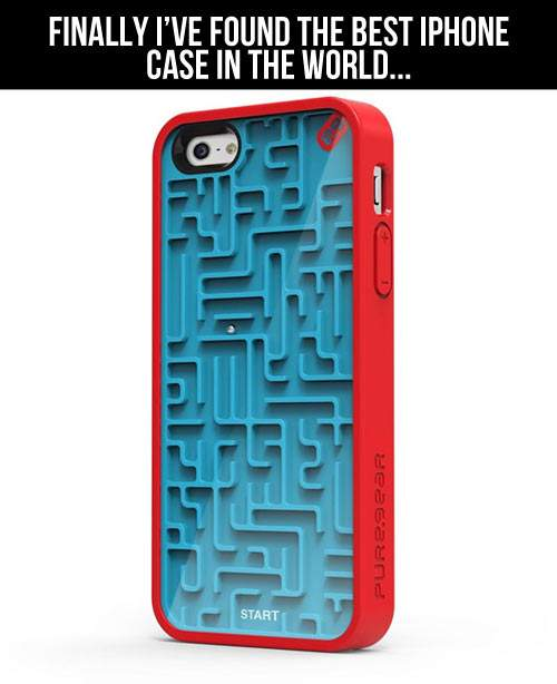 Finally I've found the best iPhone case in the world.