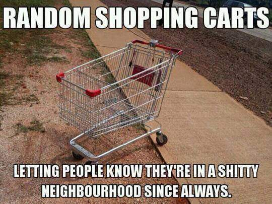 Random Shopping Carts In Your Neighbourhood