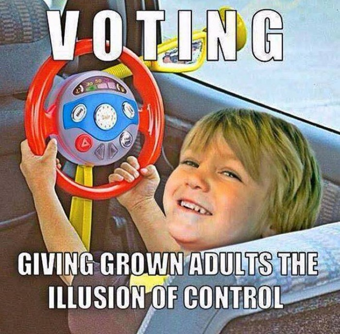 Voting - Illusion Of Control