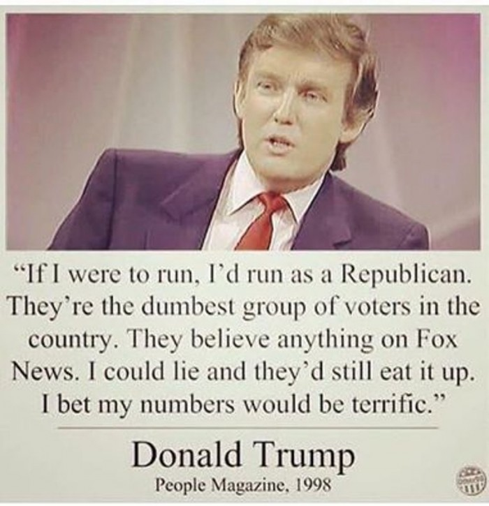 Donald Trump - People Magazine 1998