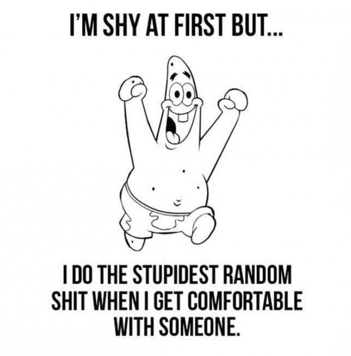 I'm Shy At First But...