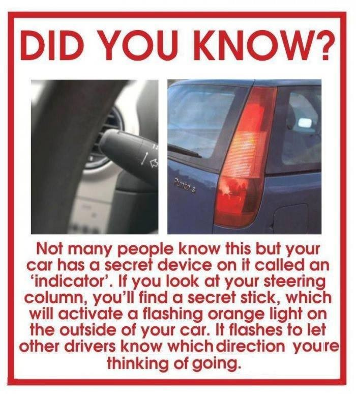 Did you know? Car Indicator