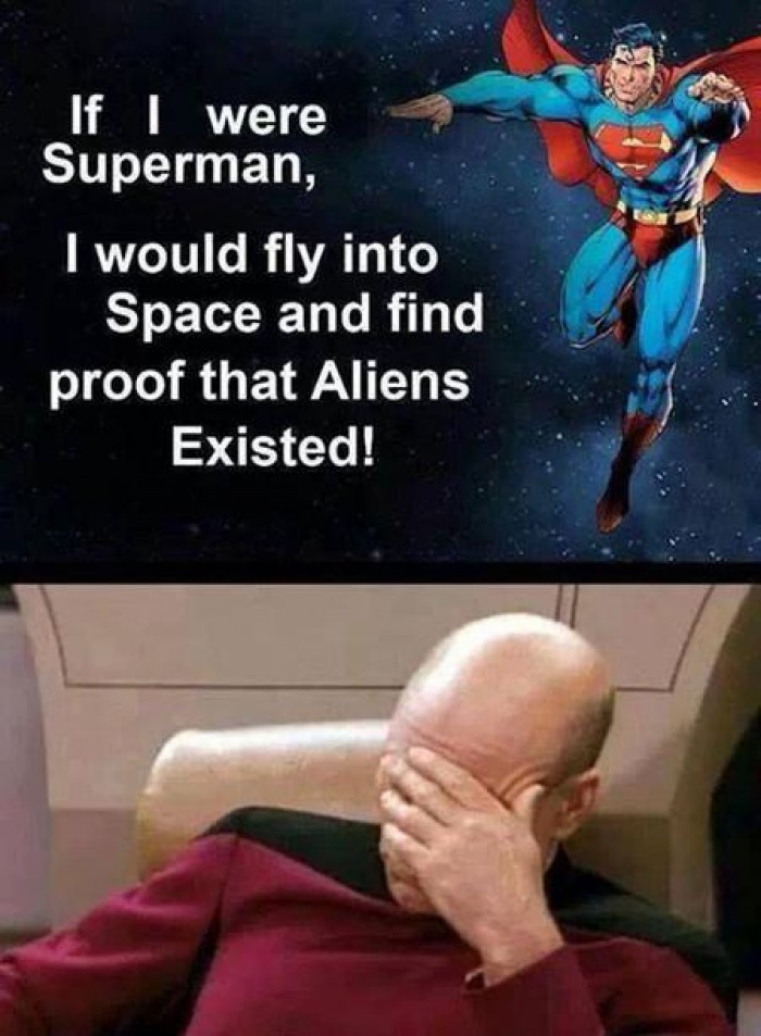If I were Superman - Find Aliens
