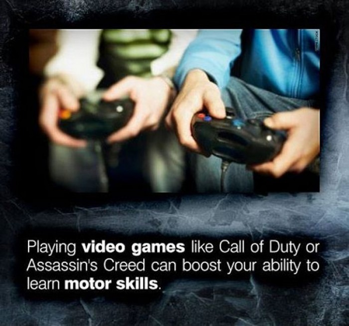 Video games boost ability to learn motor skills