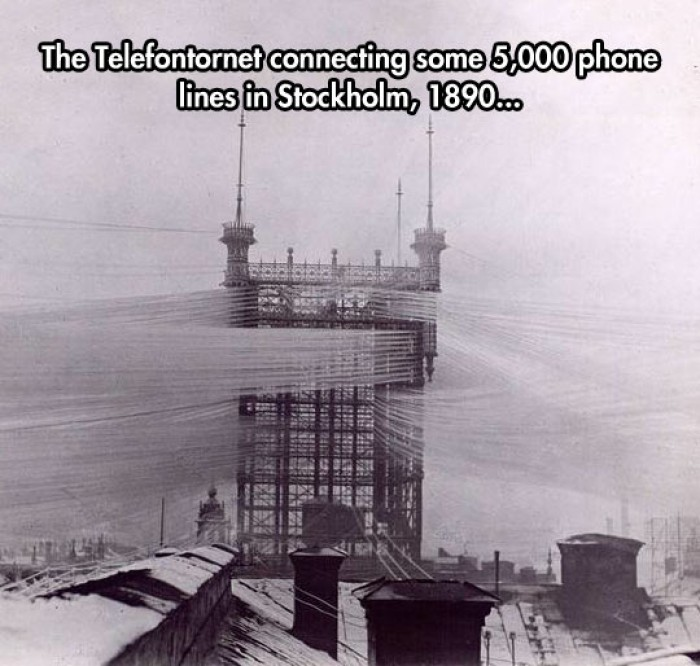 Old Phone Line Tower From 1890