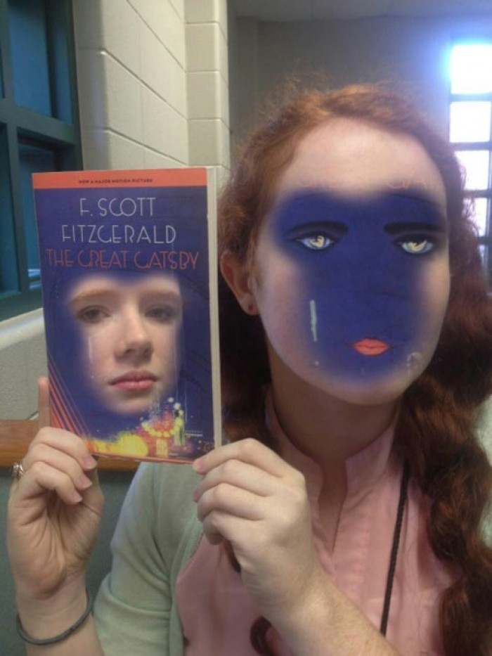 Extreme Book Face Swap