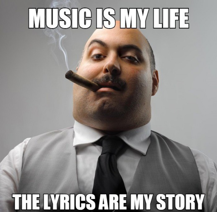 Music is my life the lyrics are my story