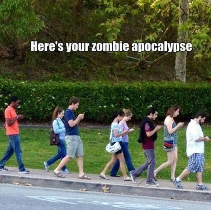 Here's your Zombie Apocalypse.