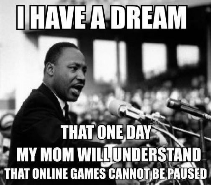 I have a dream that one day my mom will understand