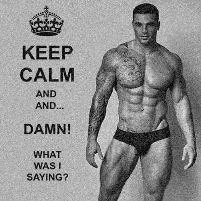 Keep Calm and and ...damn! What was I saying?