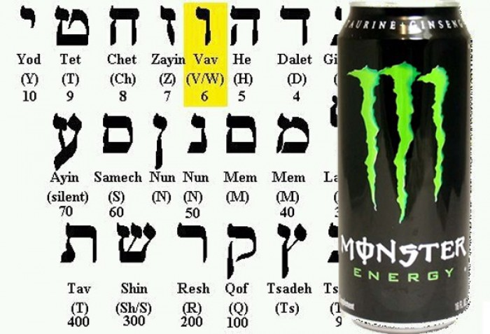 Monster Energy Drink: Secretly Promoting 666