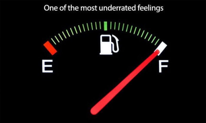 One of the most underrated feelings