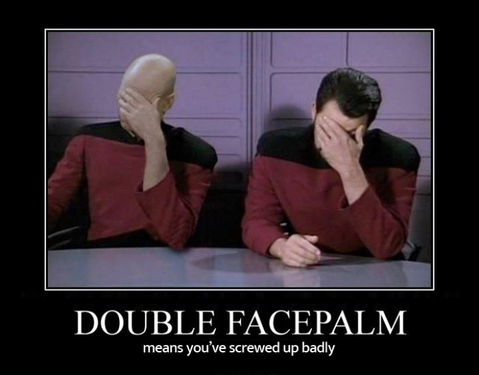 Double Facepalm - Picard
