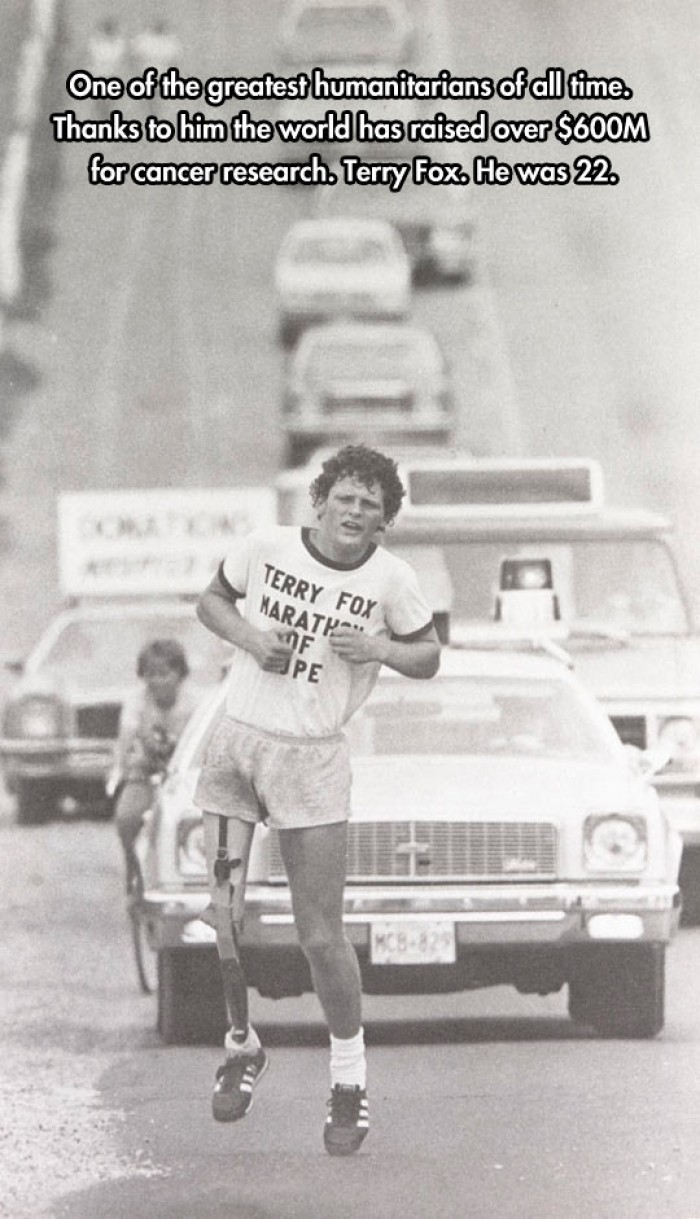 Terry Fox The Greatest Humanitarian