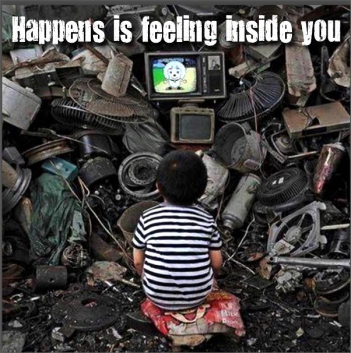 Happens is feeling inside you.