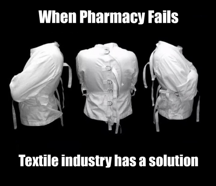 When Pharmacy Fails Textile Industry Has a Solution