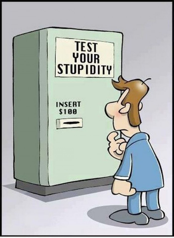 Test your stupidity!