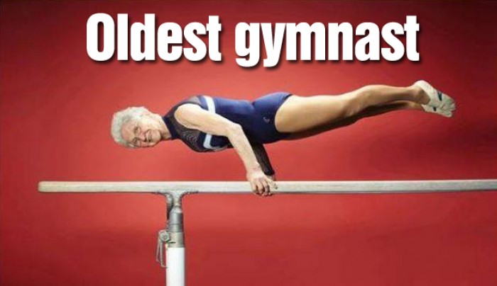 Guinness World Record: 86 year old Johanna Quaas named world's oldest gymnast