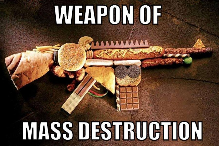 Food - Weapon Of Mass Destruction