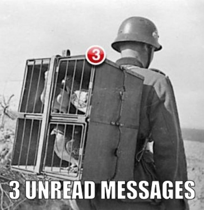 Find all my unread messages