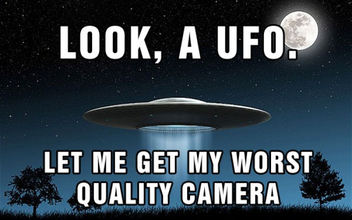 Look, a UFO!!!