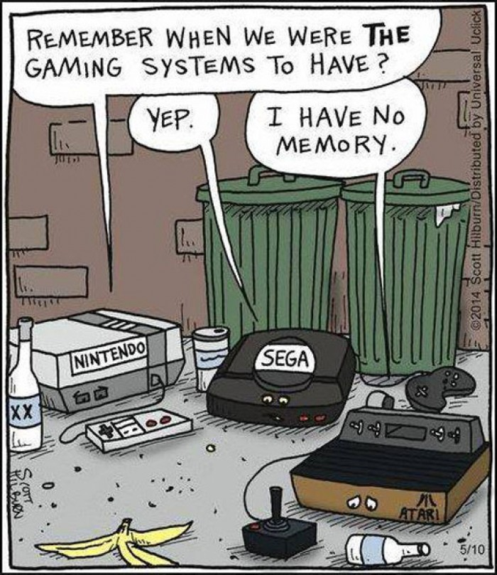 Remember When We Were THE Gaming System To Have?