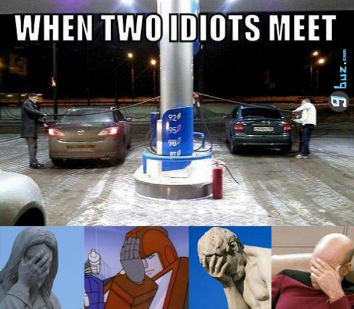 When two idiots meet