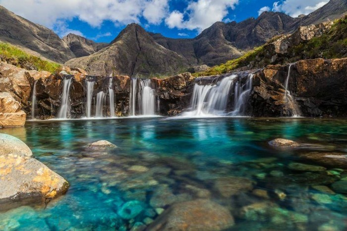 Fairy Pool, The Isle of Skye, Scotland