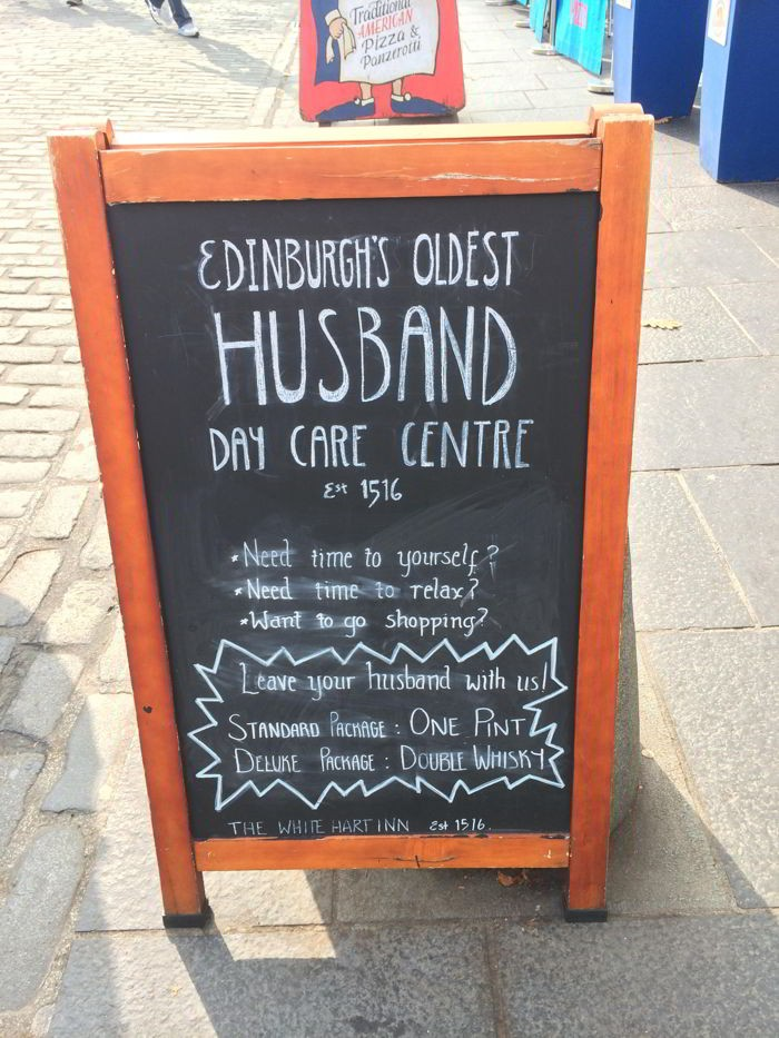 Edinburgh's Oldest Husband Day Care Centre