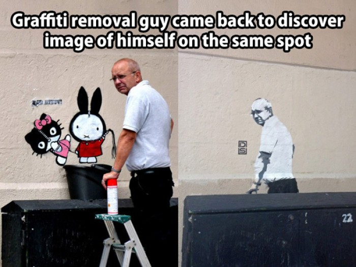 Graffiti Removal Guy comes back...