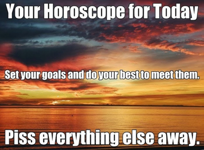 Your Horoscope for Today...