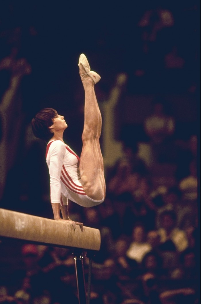 Leg muscles of the first perfect 10 in Olympic history - Nadia Comaneci