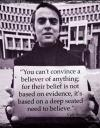Carl Sagan On Believers Quote