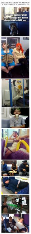 Awkward moments you see only in a public transportation V2
